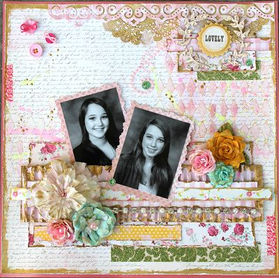 Paper and Passementerie: I have entered a layout for the Scrap Around The W...