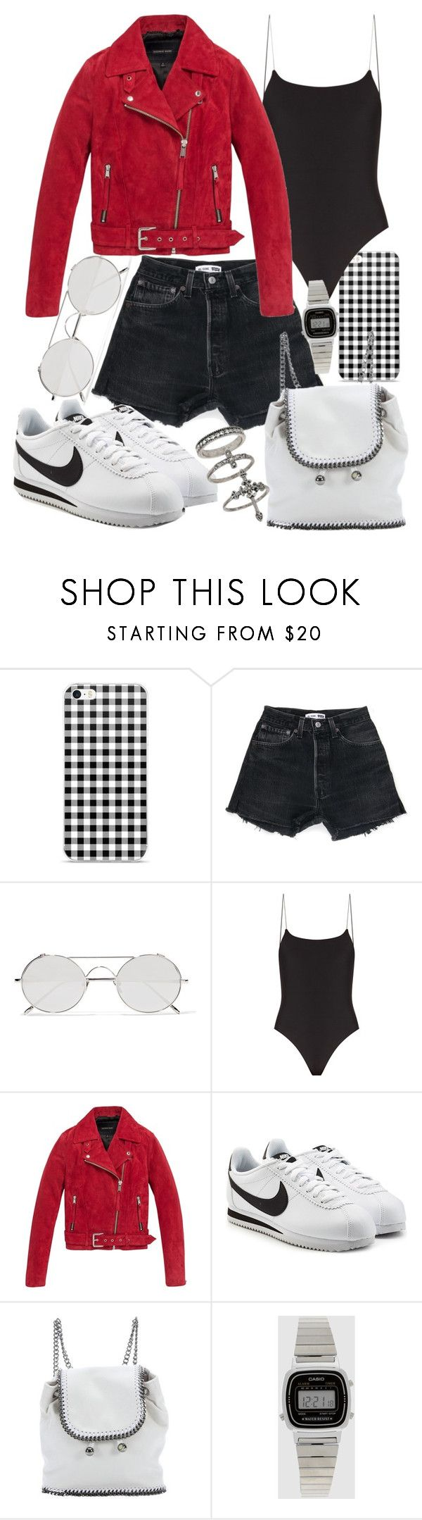 """""""Untitled #21997"""" by florencia95 ❤ liked on Polyvore featuring Linda Farrow, Jade Swim, Andrew Marc, NIKE, STELLA McCARTNEY, Casio and Miss Selfridge"""