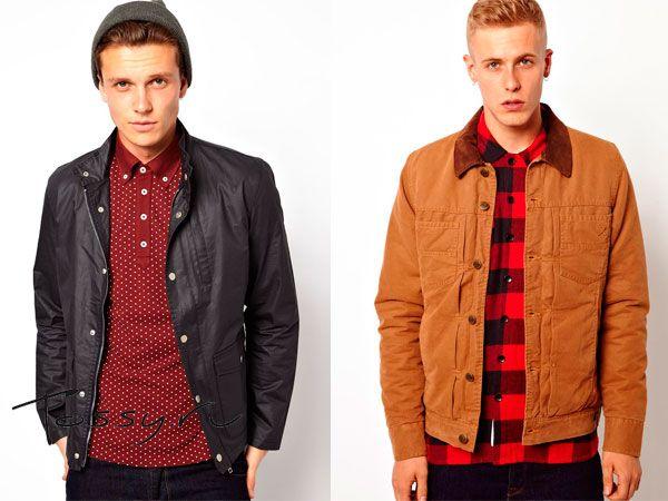 Мужские осенние куртки 2014