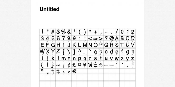 iFontMaker is an app that lets you create custom fonts using your handwriting.