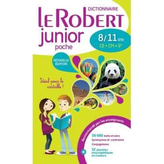 Le Robert Junior poche CE-CM, 6ème