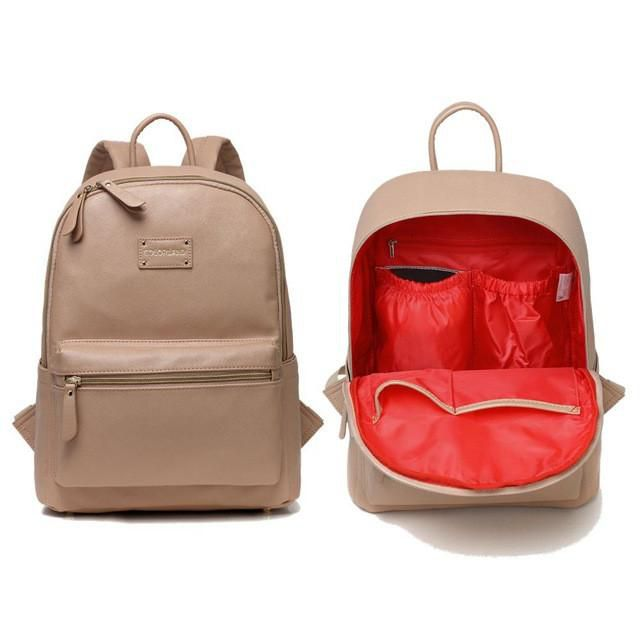 Organize All The Things In This Backpack Item Type Diaper Bags Brand Name Col Leather Baby Bag Leather Diaper Bag Backpack Leather Diaper Backpack