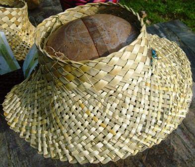 Potai - hat.  Unnamed weaver