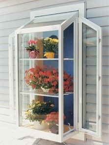 Garden windows are perfect for kitchens bathrooms and other places where only a small window will fit. Contact a vinyl replacement window dealer today to ... & 11 best Kitchen Box Window images on Pinterest | Garden windows ... Pezcame.Com