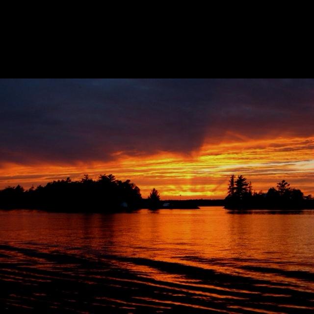 Stoney lake! Hopefully we get one of these sunsets :)