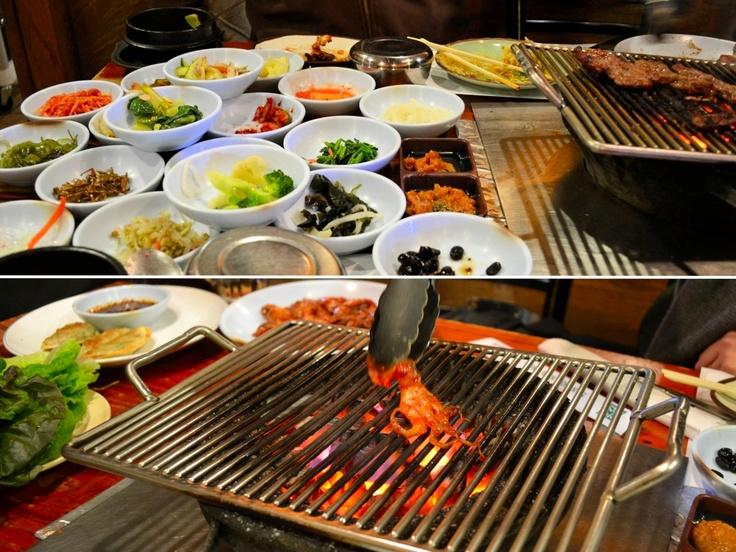 Korean BBQ w/ sides