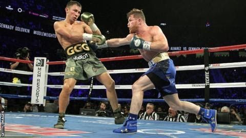 """The first fight between Alvarez and Golovkin ended in a controversial draw  Saul  'Canelo' Alvarez says it """"surprises and bothers"""" him that traces of  clenbuterol were found in a drugs test but his rematch against Gennady  Golovkin will still go ahead on 5 May.  A statement from Alvarez's  promoters blamed it on """"meat contamination that has impacted dozens of  athletes in Mexico over the last years"""". Alvarez will now move his training camp from Mexico to the USA. The first fight in Las Vegas…"""