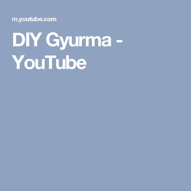 DIY Gyurma - YouTube