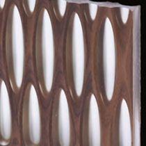 wood and resin decorative panel VIBRATO 4 LAMELLUX