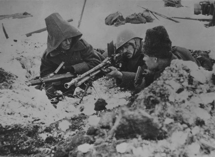ROMANIAN ARMY on the RUSSIAN FRONT, WINTER of 1944