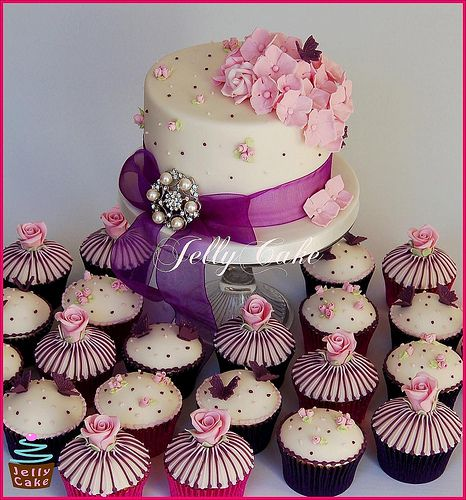 468 Best Images About Wedding Cupcakes On Pinterest