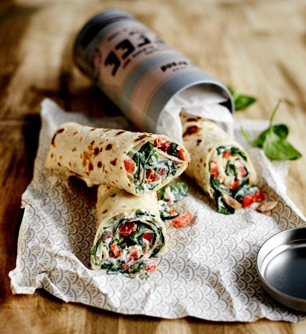 Burritos se sýrem a špenátem  Foto: