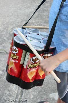 10 kreative DIY-Ideen, die Sie mit leeren Pringles-Dosen basteln können! - DIY Bastelideen