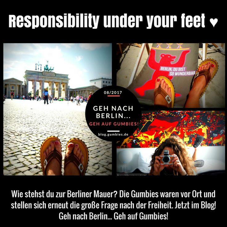 #BerlinerMauer #Freiheit #Berlin #Responsibilityunderyourfeet