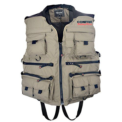 1000 ideas about fishing vest on pinterest tackle bags for Fishing vest amazon