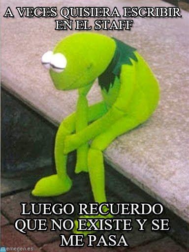 La rana rené triste meme (http://www.memegen.es/meme/lcsxms)