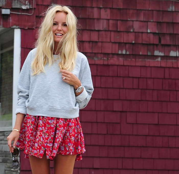 I'm loving this girls blog.. Even though the whole thing is in Swedish:) Sofi Fahrman.. Love her looks