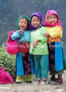 Highland Smiles Source: http://www.customvietnamtravel.com/vietnam-tours/off-the-beaten-track/northern-vietnam-impression.html