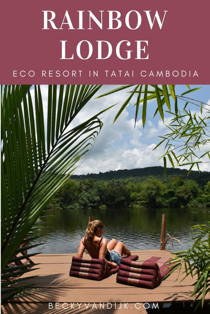 The Rainbow Lodge in Tatai, Cambodia is a unique paradise set next to the river in Koh Rong area. Read my review of this eco resort to see why you must visit!