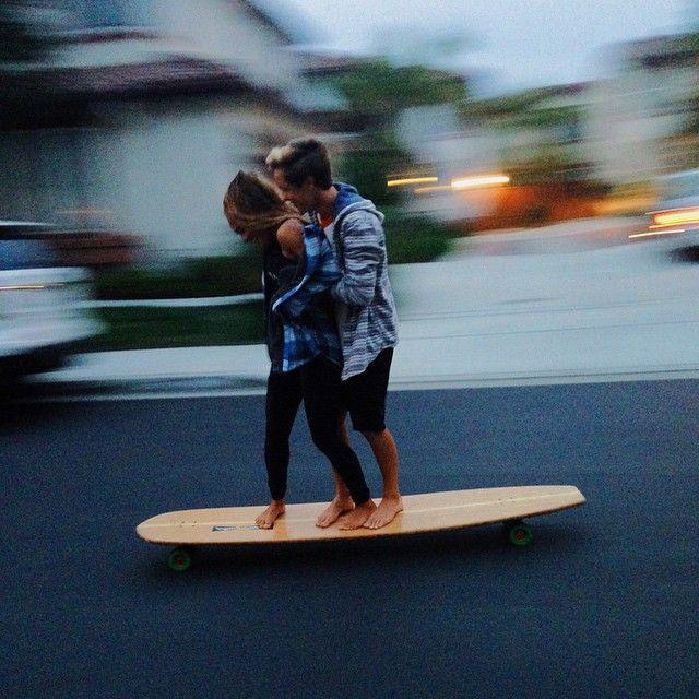 Love longboarding
