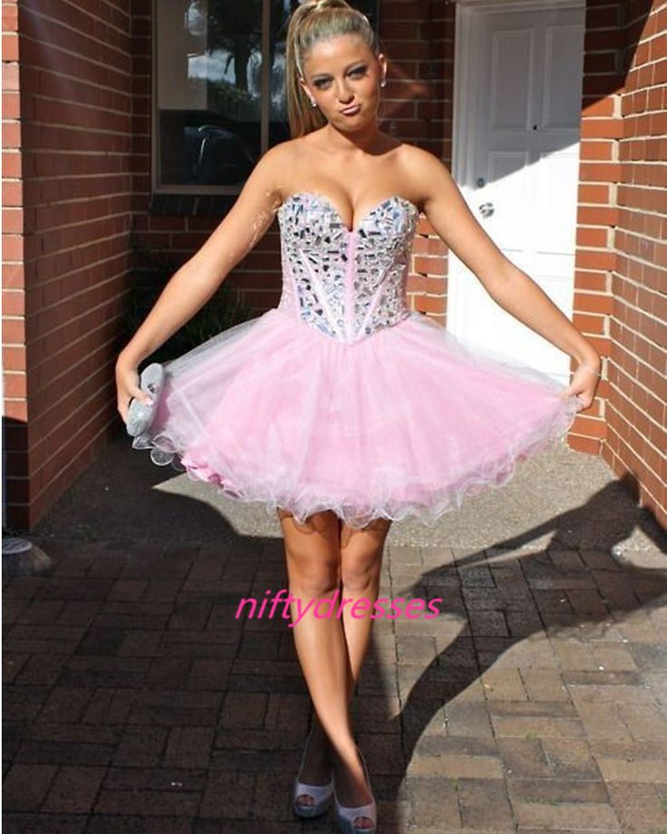 Short colored prom dresses