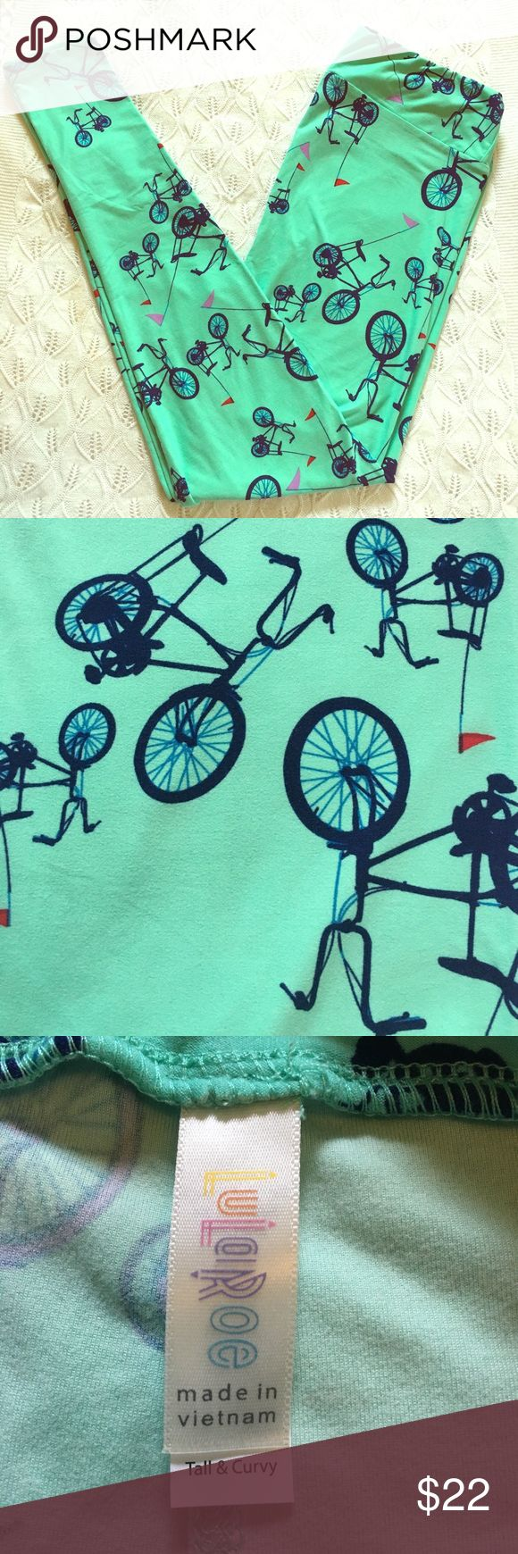 LLR Bicycle Print Leggings