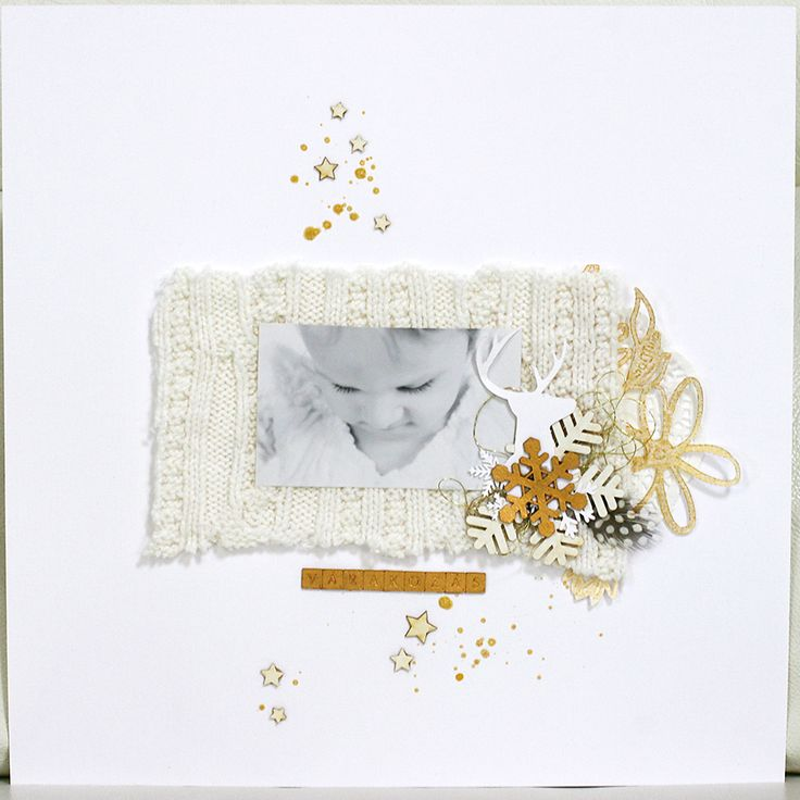 waiting | traditional scrapbook page by todido