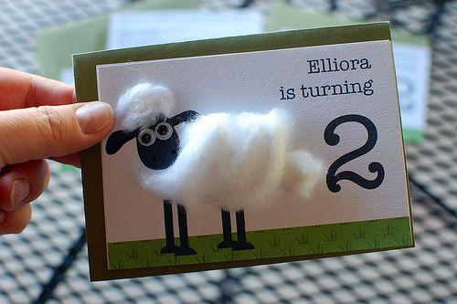 Elliora's Bday Invite!