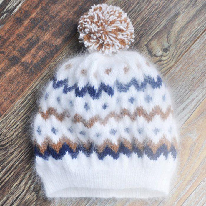 Un bonnet angora - Marie Claire Idées