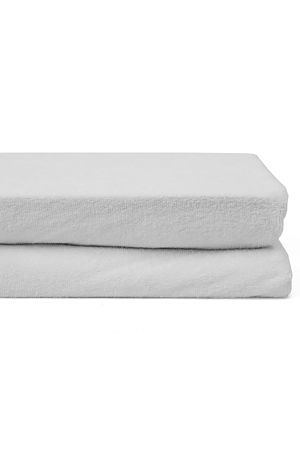 """A waterproof mattress protector is made up of terry towelling with a polyvinyl chloride backing to make it waterproof. Waterproof mattress protectors keep the mattress clean, providing a cover that protects the mattress from absorbing body excretions (such as sweat) or other liquids resulting from spills.<BR><BR><b class=""""descTitle"""">Fabric Content:</b><BR>80% Cotton 20% Polyester<BR><BR><b class=""""descTitle"""">Wash Care:</b><BR>Gentle machine wash flat dry do not tumble dry"""