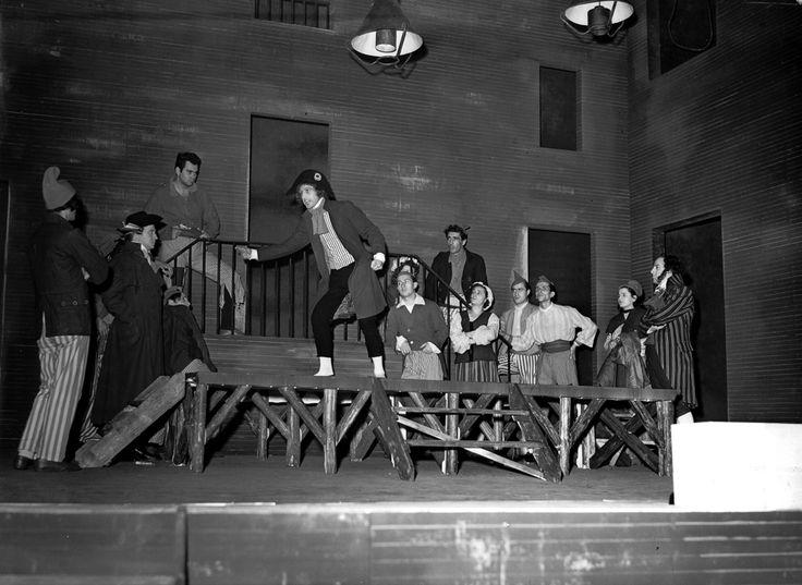 1950 la morte di Danton di Georg Büchner, regia di Giorgio Strehler, foto Archivio Piccolo Teatro di Milano