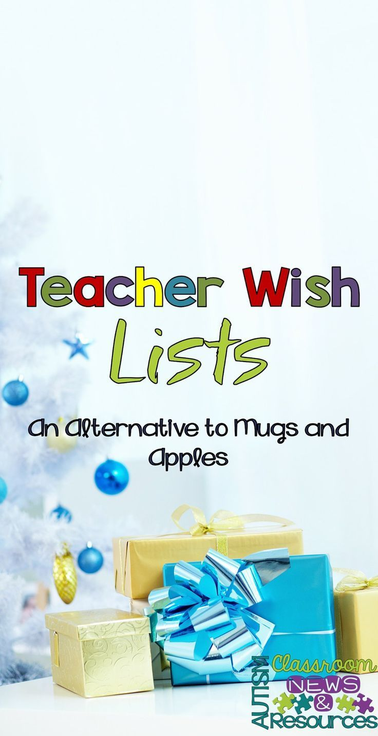 Classroom Wish List Ideas ~ Best middle high school autism classroom resources