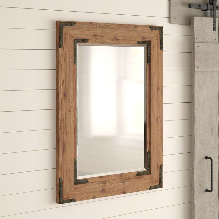 Birch Lane Heritage Tifton Traditional Beveled Accent Mirror Reviews Wayfair Rustic Mirrors Accent Mirrors Wood Framed Mirror