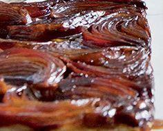Red Onion Tart Tatin