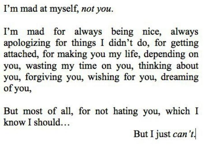 Says every broken heart