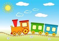 Poezia Trenul cel cu nepotei #poeziicopii #cantececopii