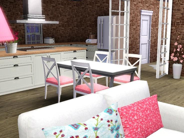 Sims 3 single girls home