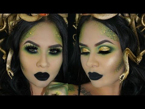 medusa halloween tutorial youtube - Halloween Tutorials
