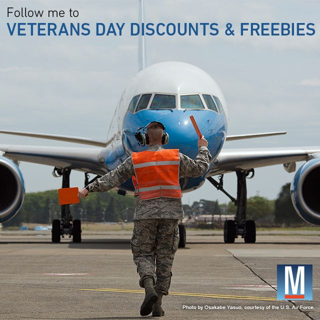 See all the Veteran's Day Discounts available to veterans, active duty and families.