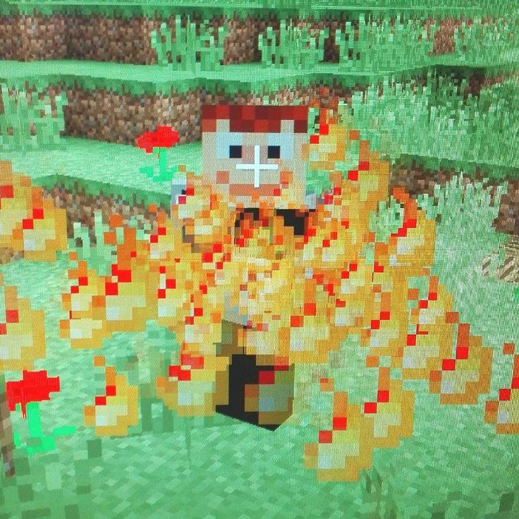 Oligustav mit Flammenwerfer #minecraftboy #minecraft #minecraftonly #minecrafter #minecraftmod #minecraftmods #flammenwerfer #flamethrower #fire #gamer #pc #gaming #helovesminecraft #oligustav