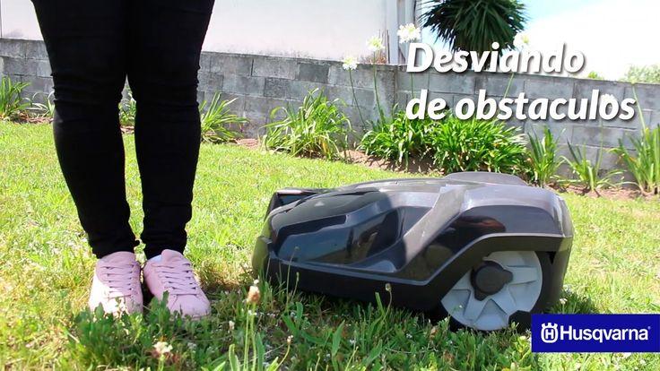 Husqvarna Automower® Desviando de obstáculos - Avaliador Oficial Automow...