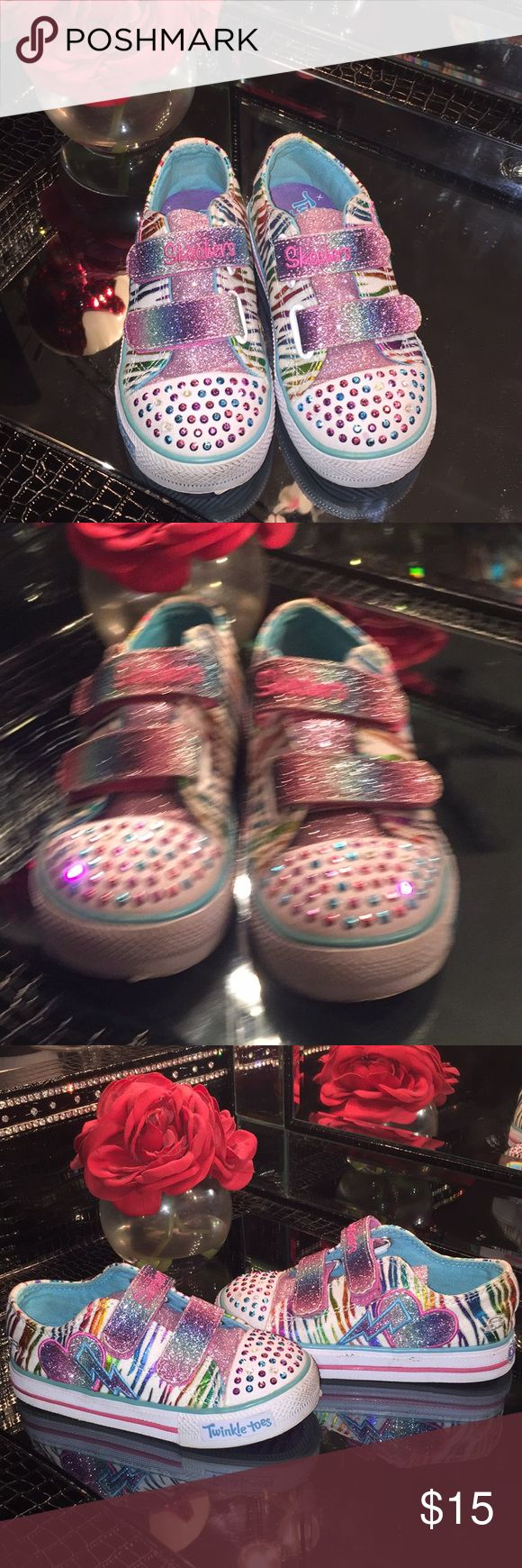 Sketcher Twinkle Toe Toddler size 9.5 Toddler sizes