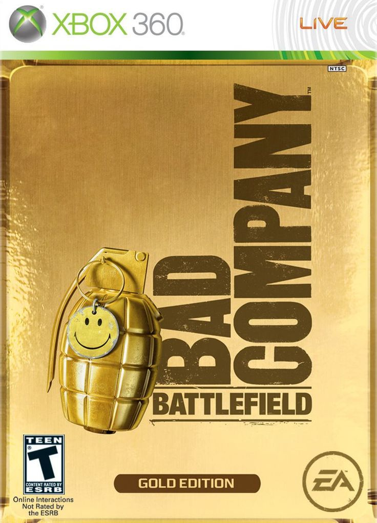 Battlefield Bad Company Gold Edition Xbox 360 Game