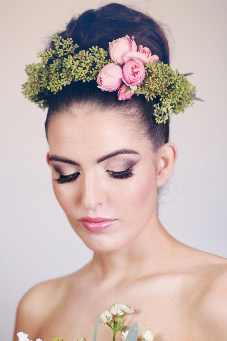 Bridal Makeup Flower Making : Best images about love moi makeup bridal work on