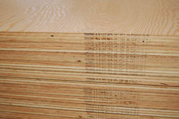 Ab Marine Grade Plywood Fir Wood 1 4 In 3 Ply 4x8 Plywood Company In 2020 Marine Grade Plywood Fir Wood Marine Plywood
