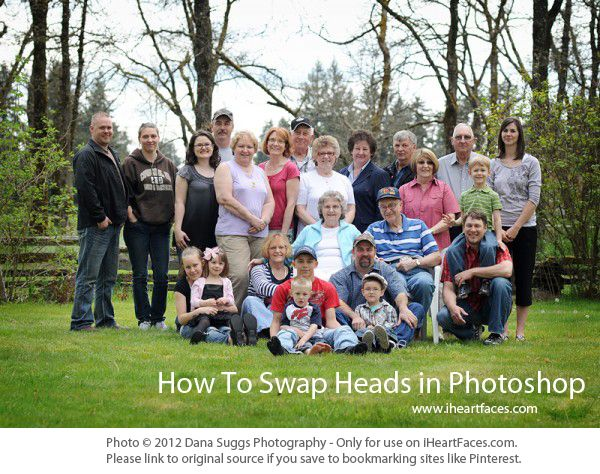Photoshop Head Swap {Tutorial}