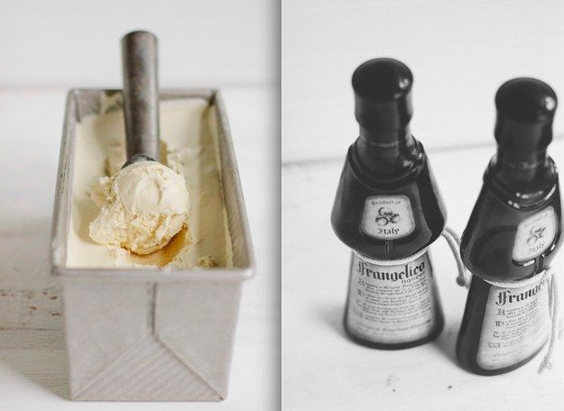 Frangelico and Coffee No-Churn Ice Cream | 17 Boozy Ice Creams