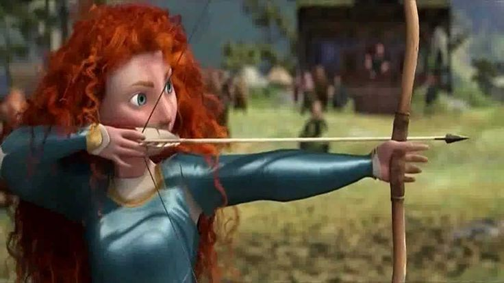 BEST SCENE from the movie 'Brave' (2012). #archery