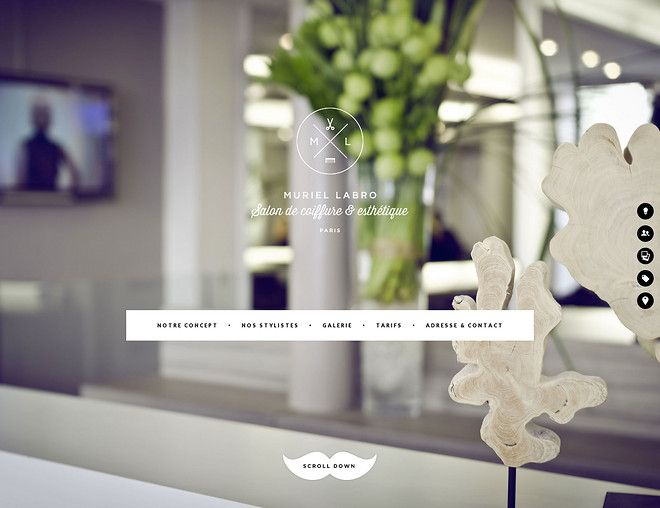 Muriel Labro - CoolHomepages Web Design Gallery