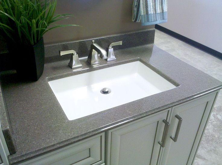 Best Wormys Bath Images On Pinterest Arrow Keys Bathroom - Integrated sink countertop bathroom for bathroom decor ideas
